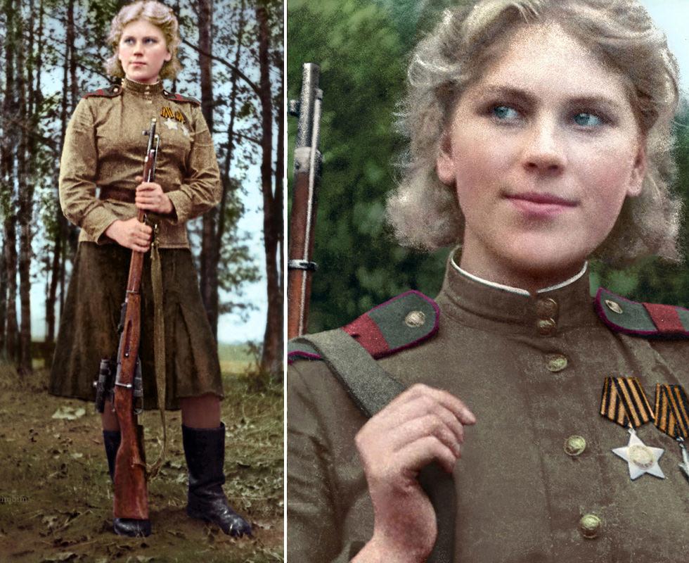 Roza Šánina, una auténtica femme fatale