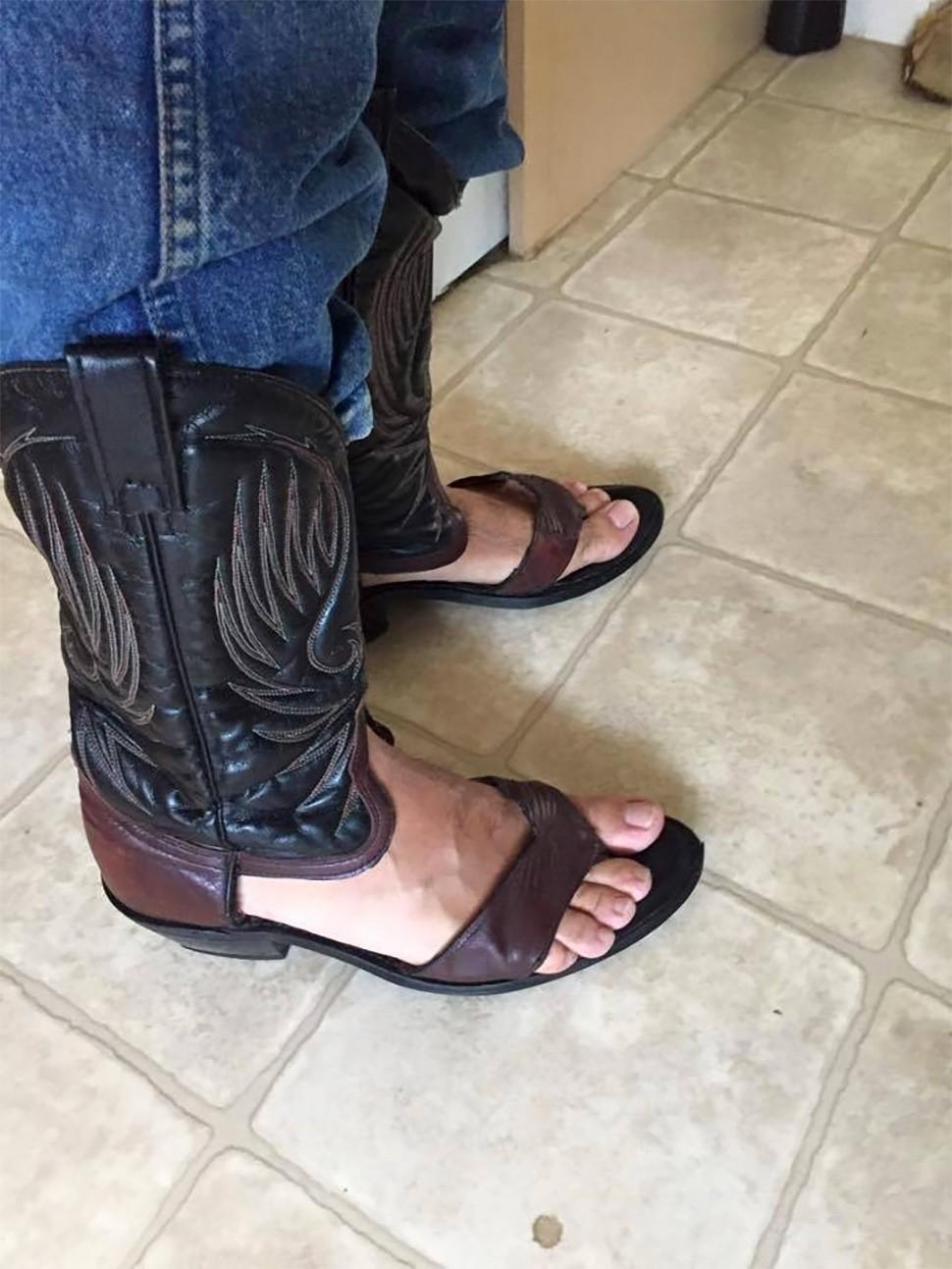 Llegan las sandalias cowboy