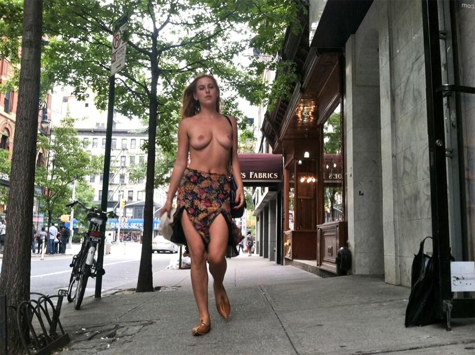 La hija de Bruce Willis reivindica el topless