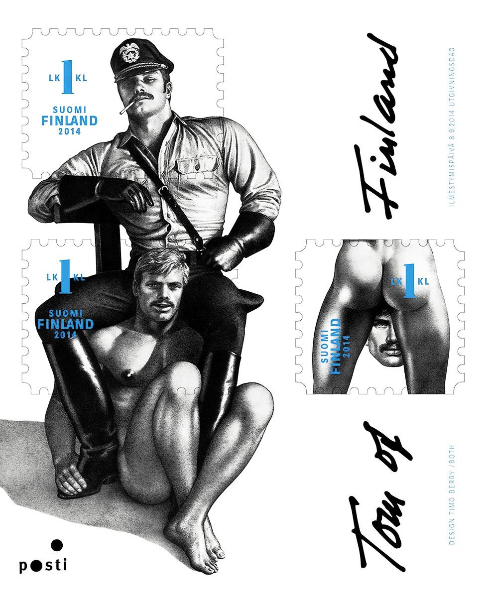 Los sellos homoeróticos llegan a Finlandia