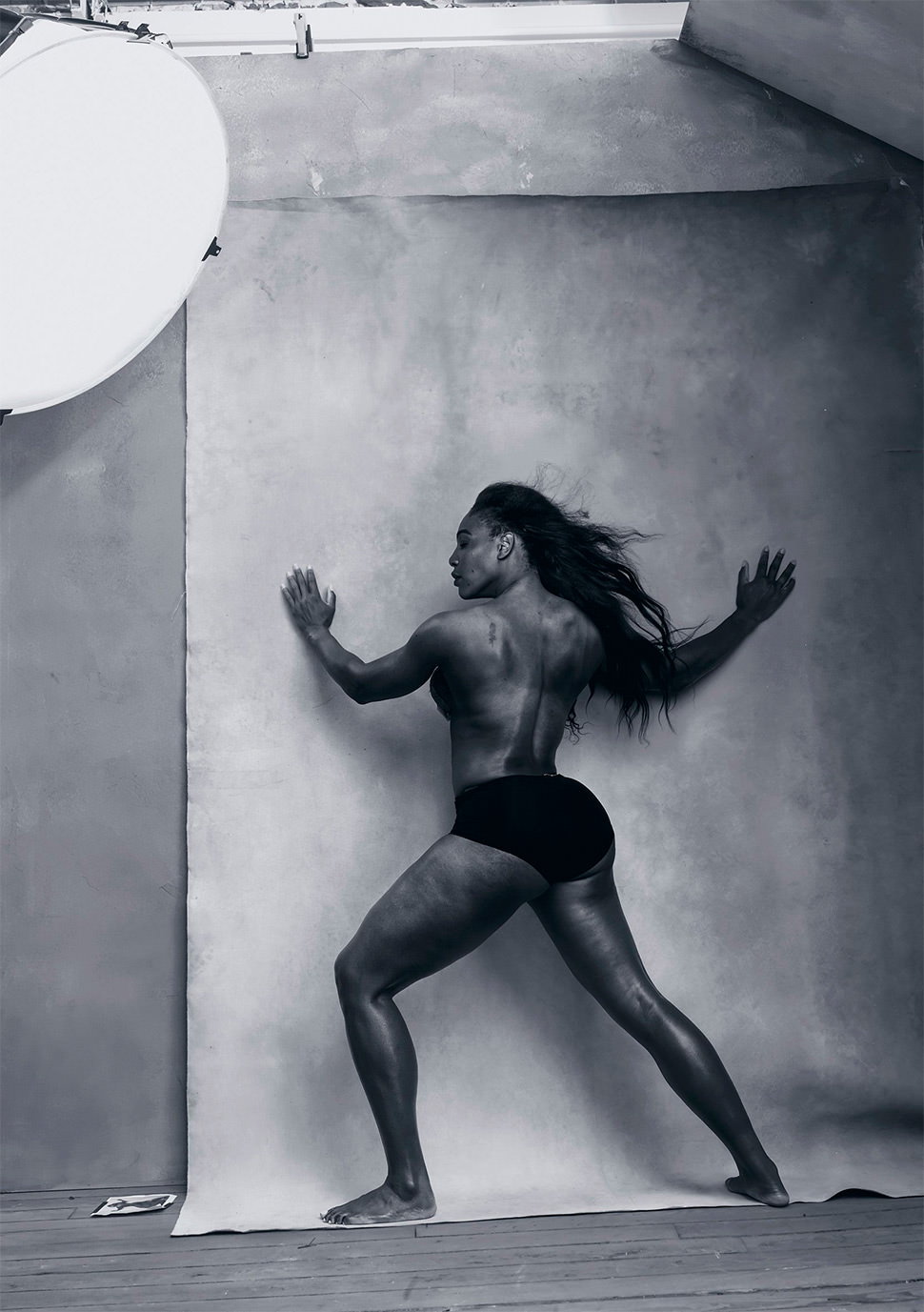 Serena Williams para el calendario Pirelli 2016