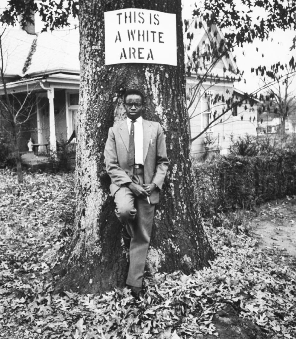 Área solo permitida a los blancos