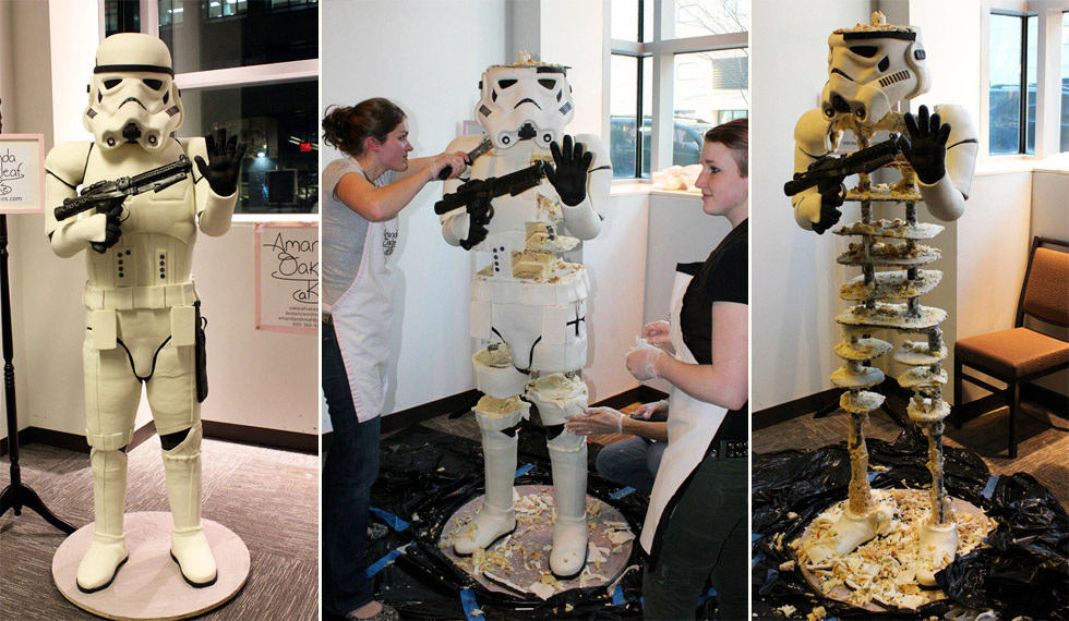 Stormtrooper, un pastel imperial