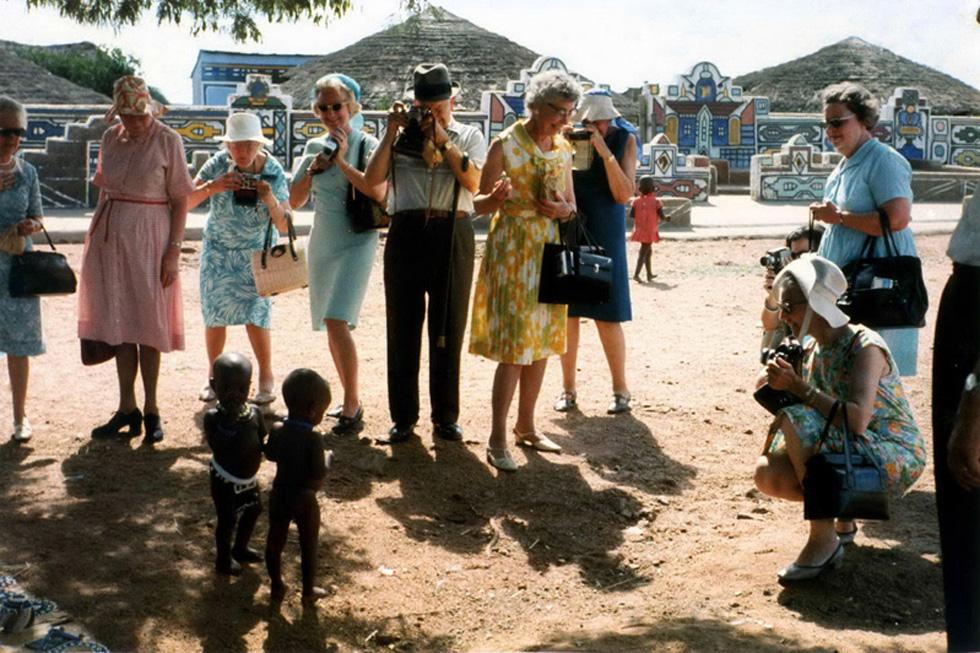 Turistas americanos en Sudáfrica, 1973