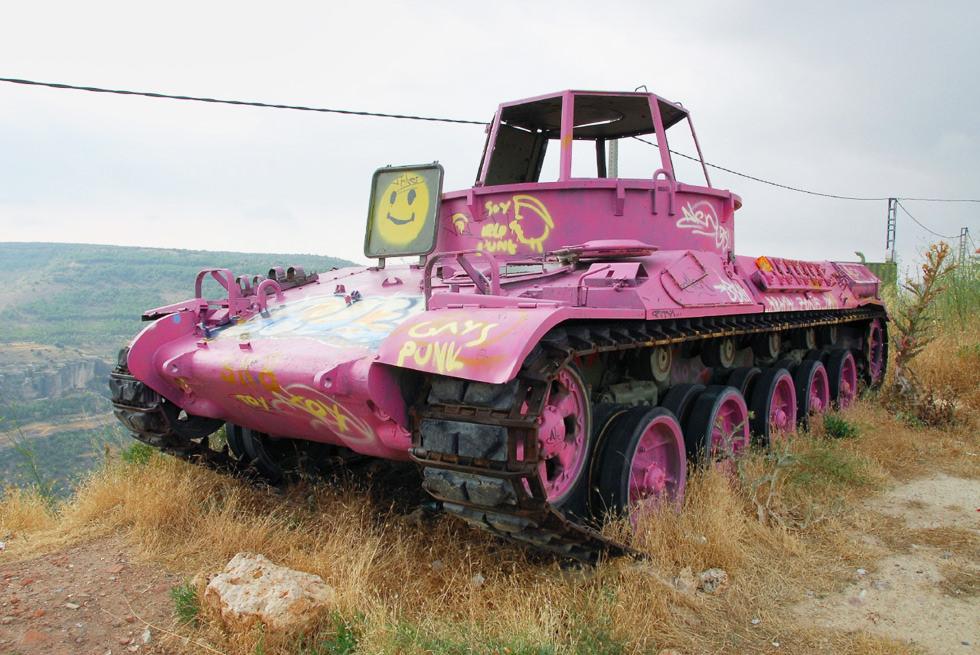 El tanque punk