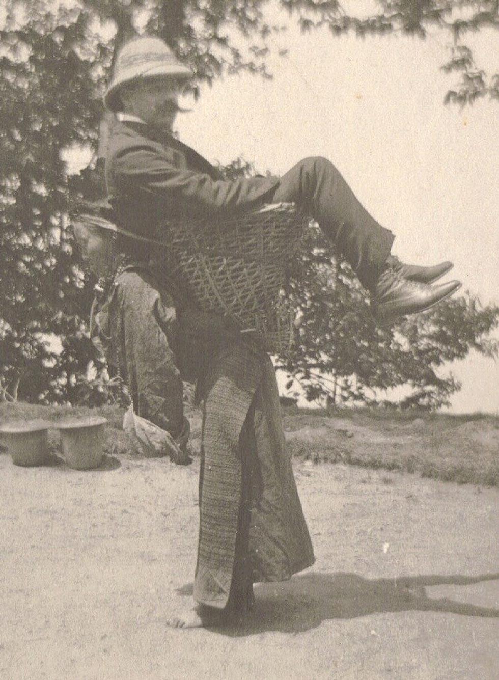 Taxi en la India (1903)