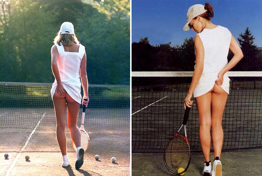 """""""Tennis girl"""", la foto más vendida de la historia"""