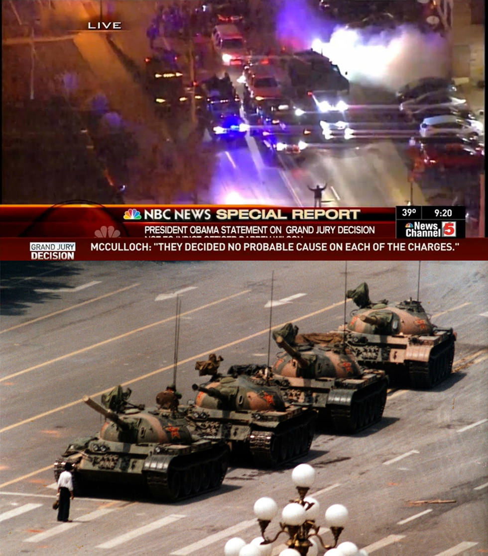 Tiananmen 1989 – Ferguson 2014