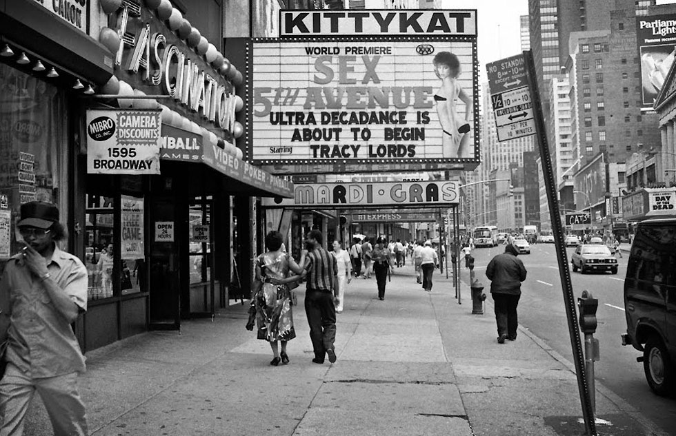 Traci Lords en el Kitty Kat (New York, 1985)