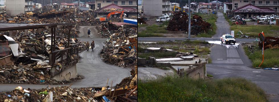 Japón, 6 meses después