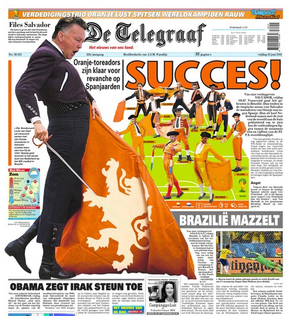 De Telegraaf nos la clava
