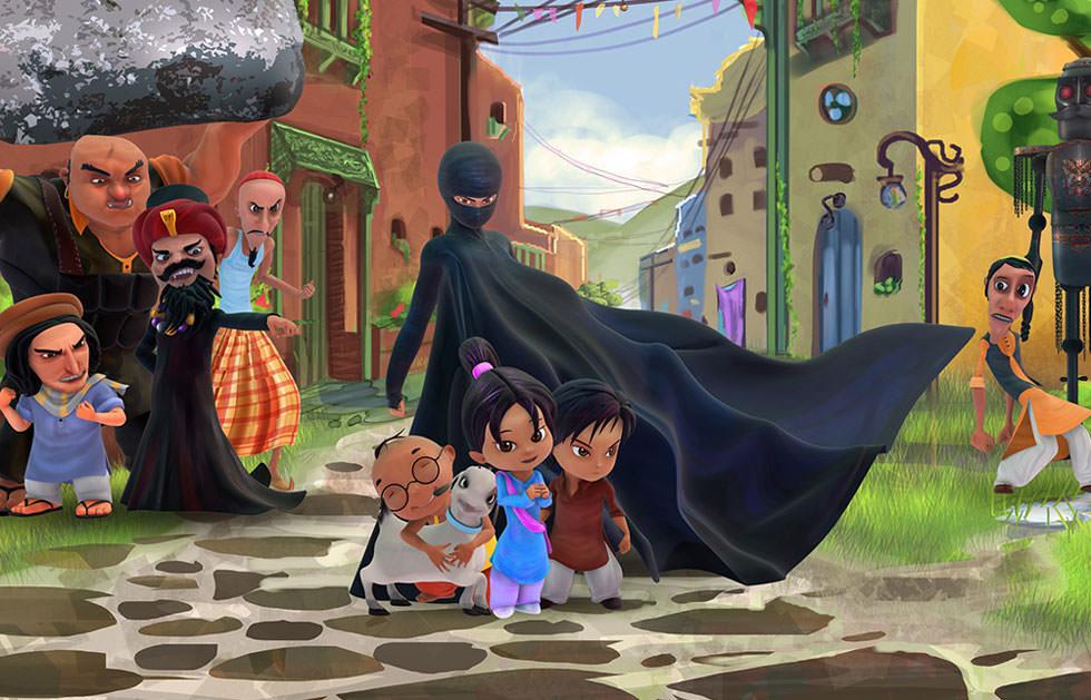 La vengadora del burka