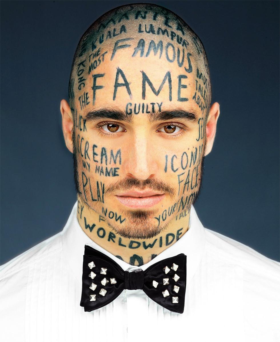 El hombre que sacrificó su cara por la fama