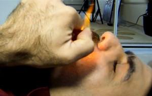 Mehdi-S experimenta con métodos de afeitado
