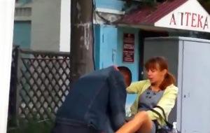 Una muestra de amor romántico en las profundidades de Rusia