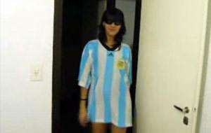 Argentina amateur practicando sexo oral