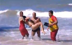 Ataque de tiburón en Brasil (contenido extremo)