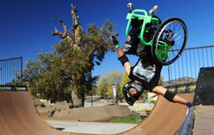 Aventuras locas en una silla de ruedas