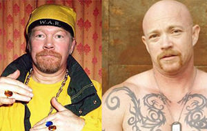 Parecidos razonables: Axl Rose / Buck Angel