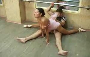 Porno com bailarina