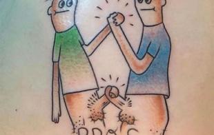 Mi nuevo tatuaje es de Bangbros