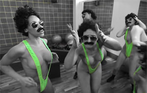 Un voluptuoso homenaje a Borat: Nice