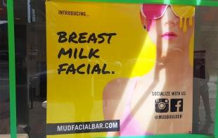 Leche materna, tu nueva crema facial