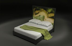 En la cama indecente harás de todo menos dormir