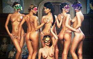 La cantante rumana Inna posa desnuda para FHM