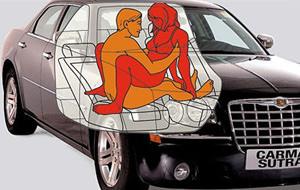 Carma Sutra, el manual para follar en el coche