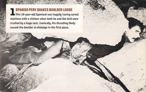 Muertes ejemplares: castigo divino a la zoofilia