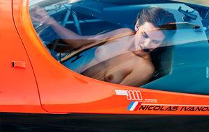 Erotismo de altos vuelos con Clara Botte y Lui Magazine