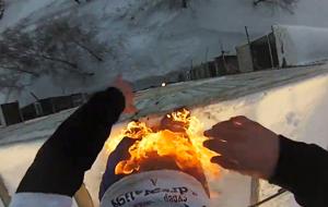 El meteorito humano ha caído en Rusia