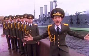El coro del ejército ruso nos tiene locos, ¡LOCOS!