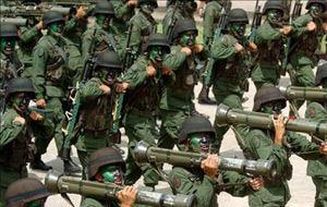 Desfile militar a ritmo de techno