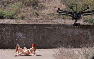 El primer rodaje pornográfico hecho con drones