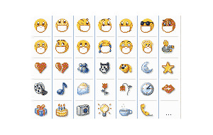 Emoticones para el Messenger