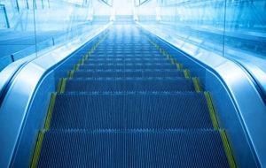 ¿Qué pasa con las escaleras mecánicas chinas?