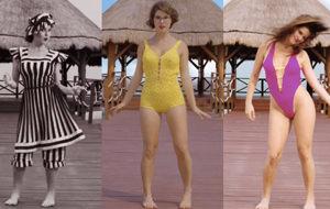 La evolución del bikini, con Amanda Cerny