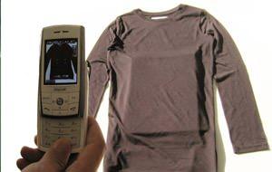 Filtro infrarrojo para penetrar la ropa