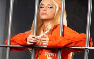 Fotos de Paris Hilton en la cárcel