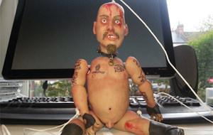 GG Allin resucita en forma de marioneta