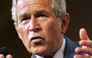 Las últimas horas de Bush como presidente