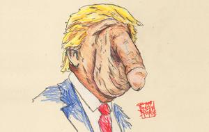 Donald Trump humano, demasiado humano