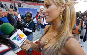 El periodismo es sexy en el Mundial de Brasil