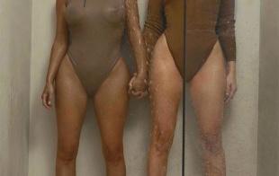 Duelo de culos entre las Kardashian