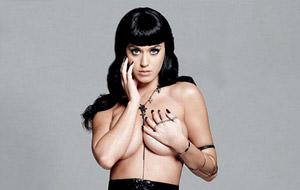 Katy Perry en topless para Esquire