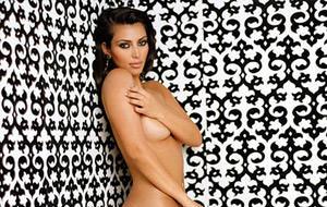 Las fotos de Kim Kardashian desnuda