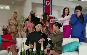Una orgía norcoreana en casa de Kim Jong-un