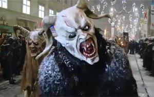 El diabólico desfile navideño de Krampus